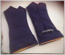 NAVY / Wheat/Heat  gloves -aching hands, pain relief, arthritis,