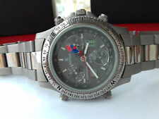 Kronos VINTAGE COLLECTION CHRONOGRAPH ALARM TITANIUM 4.171.0.089 SWISS WATCH NOS