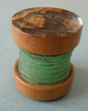 More details for mauchline ware sewing thread waxer.  transfer of the popping stone, nr gilsland