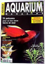 Aquarium Magazine n°157 - 15 poisson pour un bac entre terre et mer