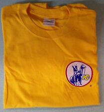 NHL Kansas City Scouts Embroidered T-Shirt Size Small Rockies Devils New