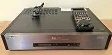 SONY Video Cassette Recorder SLV-R5UC w/Remote For Parts Not Working