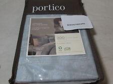 New Portico Osmosis Euro Pillow Sham ~ Organic Cotton ~ Arctic Ice Nip