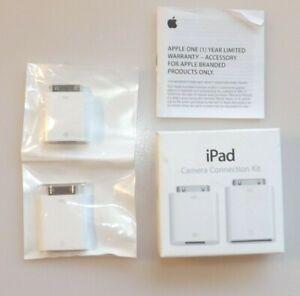 Genuine Apple iPad Camera Connection Kit MC531ZM/A (1st 2nd 3rd Gen) Open Box
