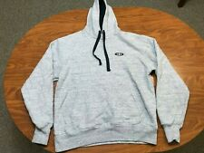MENS USED LIGHTLY WORN UNDER ARMOUR HEATHER GRAY PULLOVER HOODIE SIZE MEDIUM