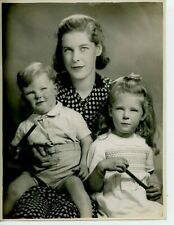 8 x 10 original Photo by Marcus Adams Mrs. Franklin Braithwaite & Children