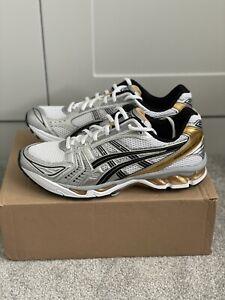 Asics Gel Kayano 14 White Gold Size 10