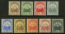 Bermuda  1910-24  Scott # 40-54  Mint Hinged Set