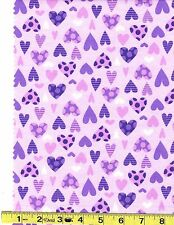 100 % Cotton Flannel   21759 lilac1    by the  yard