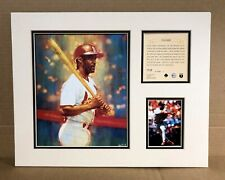 St. Louis Cardinals Ozzie Smith 1995 MLB Baseball 11x14 MATTED Lithograph Print