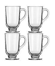 Libbey 10 5ounce Irish Coffee Mug, 4piece Set NEW, Free Shipping