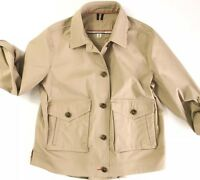 Tommy Hilfiger Women's Cropped Trench Coat Jacket