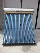 PANNELLO SOLARE TERMICO PRESSURIZZATO CON 20 TUBI HEAT-PIPE BOILER INOX 175LITRI