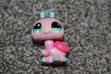 Littlest Pet Shop Pink Ladybug #1143 Blue Eyes LPS Girls Bug Toy Hasbro 2008 Fun