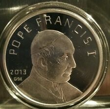 Pope Francis I 1 oz .999 silver proof Vatican City Catholic Confirmation bible