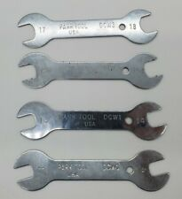 PARK TOOL DOUBLE ENDED CONE WRENCH Cycling SET 11-12 13-14 15-16 17-18