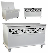 Wooden Chest Jersey White Trunk Sideboard Large Laundry Wood Chest Cabinet Bed N