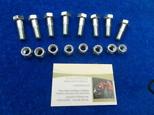 LAND ROVER PROP SHAFT NUT & BOLT SET OF 8 SUITABLE FOR SERIES & DEFENDER 90/110