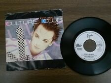 """CULTURE CLUB 45 RPM """"Gusto Blues"""" Promotional record w/ orig pic sl VG"""