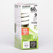 ***SUPER SALE** FEIT MINI TWISTCFL LAMP 120V ESL13T/ECO 017801875119 LIGHT BULB