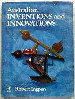 Australian Inventions and Innovations Robert Ingpen 1st Ed HCDJ 1982  Vegemite