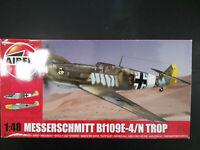 Messerschmitt Bf - 109, E - 4 / N Trop, Airfix, Scale:1/48, Kit: A05122A