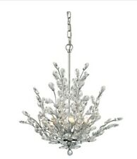 Elk Lighting 45262/6 6 Light 1 Tier Crystal Chandelier - Chrome
