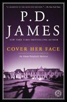 COVER HER FACE by PD James FREE SHIPPING paperback book p.d. Adam Dalgliesh 1