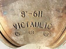 """One Victaulic 8"""" 45 Degree Elbow 8-611 Grooved Copper Connection Fittings-Used"""