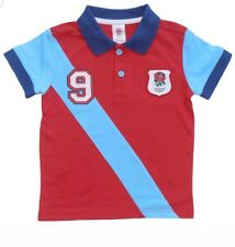 ENGLAND RUGBY BABY POLO SHIRT KIDS RFU 9-12  T-SHIRT OFFICIAL PRODUCT
