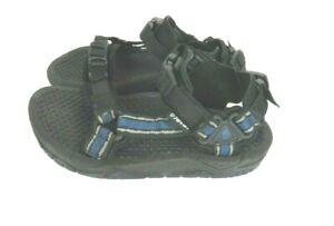 Teva Men 6804 Universal Hiking Trail Sport Sandals Water Shoes Black Blue Size 6