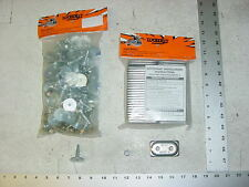84 WOODYS Grand Master Stud 1.325 Studs Double Alum Backer Snowmobile Track