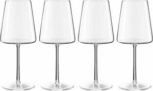 Set of 4 Stolzle Lausitz Power Red Wine Glass - Crystal Transparent 520ml