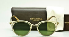 OLIVER PEOPLES SPELMAN OV5323S 109452 Buff Crystal-Green Lens 50mm NEW WITH CASE