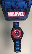 Disney Store Captain America 75 Anniversary Stainless Steel Wrist Watch
