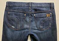 Joes Jeans Provocateur Womens Blue Denim Size 29 x 30 Boot Cut Dark Wash Mid EUC