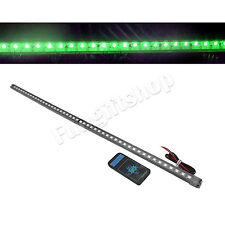 56cm 48 LED green 5050 Car Knight Rider Strip Light Waterproof Flash w/ Remote