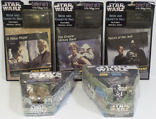 STAR WARS : CANDY CONTAINERS + BOOK & CASSETTE PACK FOR IV,VI,VI