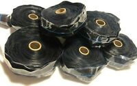 "Coax Seal Tape SUPER Thick Self-fusing Silicone 1.5"" X 60 mil X 36' 8 PACK"
