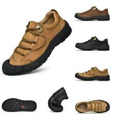 Men's Climbing Walking Hiking Non-slip Trail Leather Sneakers Shoes Waterproof