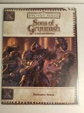 Dungeon and Dragons - Forgotten Realms - Sons of Gruumsh - WOTC