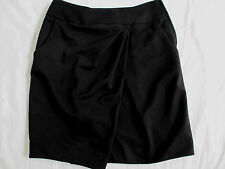 New With Tags H & M Skirt Straight Black Women's Size 6, Pockets, Side Zip Lined