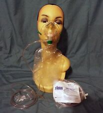 5 SIMS New First Breath Adult 3-IN-1 Oxygen Mask CAT. NO. 001423 FREE SHIPPING!