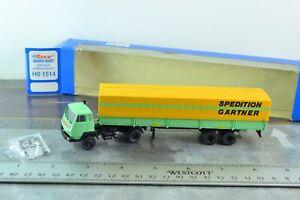 ROCO 1514 STEYR 91 Tractor Trailer Truck Gartner HO Scale 1:87