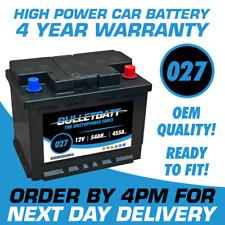 12V Heavy Duty Car Battery 027 - 4 Yr Wty fits many Skoda Toyota Volvo VW