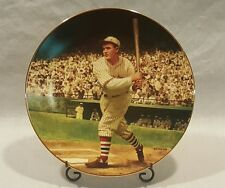 """Rogers Hornsby """"The .424 Season"""" 1993 Delphi 8"""" 22Kt Gold Collector Plate"""