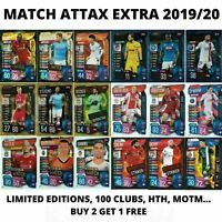 MATCH ATTAX EXTRA 2019/20 19/20 100 CLUB LIMITED EDITIONS MAN OF THE MATCH HTH