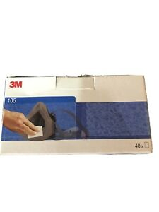 3M 105 Face Seal Cleaning Wipes - (Box of 40)