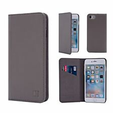 Apple iPhone 6 6s Leather Wallet Case Designed by 32nd Classic Real Leather in
