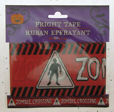 Fright Tape ~ Zombie ~ Halloween Decoration ~ 30 Feet
